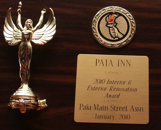 Paia Inn Recognition